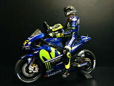 1:12 Conversión Minichamps Figure Figurine Valentino Rossi 2018 Misano RARE NEW