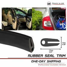 Rubber Seal Weather strip Protector Auto Car Door Edge Guards Soft U-Shape 60''