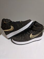 low priced 4921a 8f01a Nike Air Force 1 High Brown Cork Championship kd SF iD 8.5 gold white mid  low
