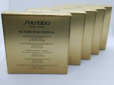 5 x Shiseido FUTURE SOLUTION LX Sample Pack Cleanser,Softener,Cream,Eye, NEW
