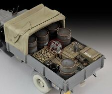 Royal Model 1/35 Canvas Cover & Stowage and Accessories Set for Opel Blitz 598