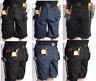 Blackrock Mens Multi Tool Pocket Heavy Duty Cargo Work Shorts Combat Trousers