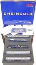 Marklin AC HO Bavarian K.BaySts.B. S 3/6 RHEINGOLD LOCOMOTIVE & 5 COACH Tin Box!