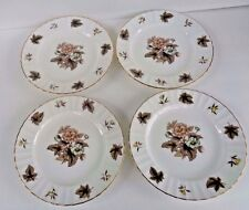 "ROYAL WORCESTER MADE IN ENGLAND ""DORCHESTER"" 8"" PLATES - SET OF 4, Z 2818"