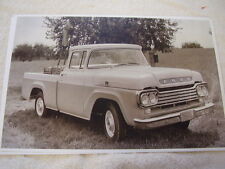1959 FORD F100 PICKUP  11 X 17  PHOTO   PICTURE