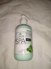 New listing La Palm Organic Healing Therapy Massage Lotion Green Tea 8 Oz Bottle