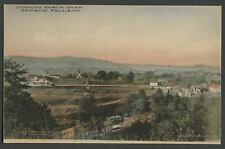 Copake Falls Columbia Co. NY: c.1920 Hand-Colored Postcard LOOKING NORTH OVER TO