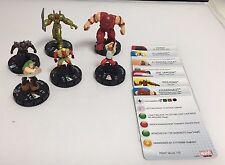 Marvel HeroClix- Marvel Brutes LOT of 6 HX25