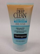 Neutrogena Deep Clean Daily Scrub Long Last Shine Control Oil Free 4.2 fl oz