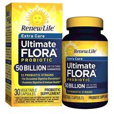 Renew Life - Ultimate Flora Probiotic Extra Care - 50 billion - daily digesti...