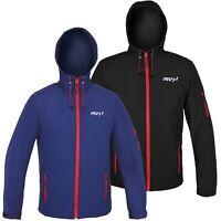 RVX Unisex Soft Shell Fleece Lined Waterproof Windproof Outdoor Work Jacket Rain