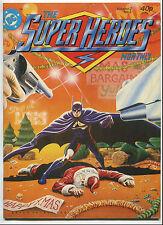 1981 The Super Heroes Monthly Vol 2 #3 ~Batman & Santa Cover~UK~ (Grade 7.5)