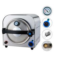 Dental 14l High Pressure Autoclave Sterilizer Machine With Pressure Gauge Tr250e