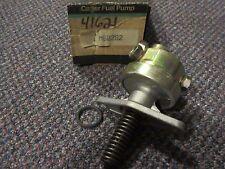 M60282 NEW NOS Carter Fuel Pump - 41621 - 1982 GM Pontiac 2.8L V6 early design