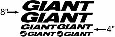 Giant Bike Frame Decal Set. Pick Your Color. Reign Glory Anthem Trance
