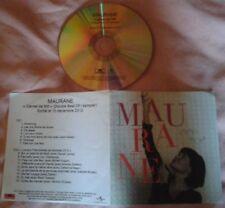 MAURANE CD PROMO SAMPLER 16 TITRES CARNET DE MO DONT 10 DUOS DONT LARA FABIAN