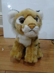 "Aurora World Miyoni Line Plush TIGER BENGAL CUB 9"" Stuffed Animal w/TAGS F/ship"