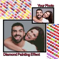 5D Diamond Painting Full Drill Custom Photo DIY Mosaic Cross Stitch Embroidery