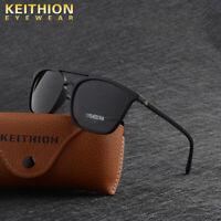 KEITHION TR90 Polarized Mens Women Sunglasses Matte Texture UV400 Driving Glass