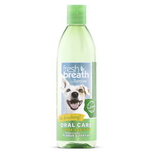 TropiClean Oral Care Water Additive For Puppies 473ml - Fresh Breath Tartar
