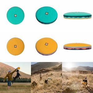 Dog Flying Disc Ring Fetch Frisbee Throwing Toy | Ruffwear Hover Craft New 2021