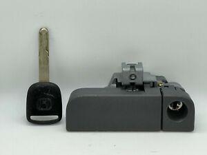03-08 Honda Pilot Glove Box Latch Handle Gray W/ Key