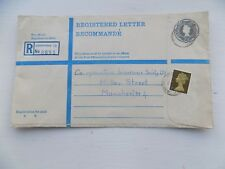 Old Registered Envelope Greenford 18 Perivale Ealing to Co-op Ins Manchester v
