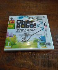 NINTENDO 3DS CHIBI-ROBO! ZIP LASH neuf sous blister officiel ,