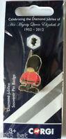 NEW Corgi GS62502 Official Diamond Jubilee Queen's Guard Metal/ Enamel Pin Badge