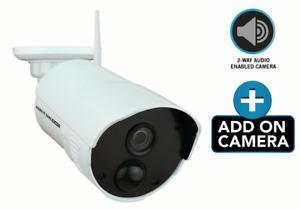 Night Owl WCM-C20SD-BU Add-on Wireless Security Camera + power adapter