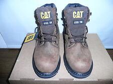 Caterpillar Men's Second Shift ST Work Boot,Dark Brown,7.5 W US