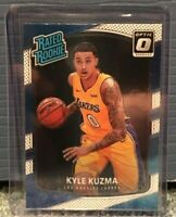 2017-18 Donruss Optic Kyle Kuzma Rated Rookie Card #174 Los Angeles Lakers