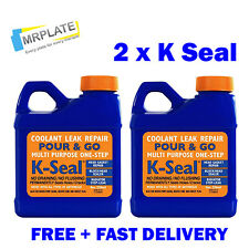K Seal x 2 Coolant Repair, Head Gasket, Radiator Stop Leak K-Seal Kseal Kalimax