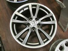 2006-2008 LEXUS IS250 IS350 18X8.5 REAR FACTORY OEM SMOKED ALLOY WHEEL RIM 74214