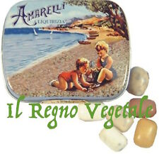 AMARELLI Liquirizia di Calabria Pura BEACH LATTINA 20 g /Sassolini LIQUORICE TIN