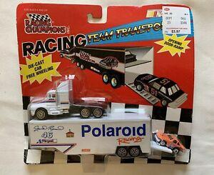 1992 Racing Champions Semi Transporter Polaroid Racing Tampo 1:87 SEALED
