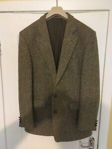mens harris tweed jacket 44L