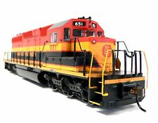 HO Scale Model Railroad Trains Kansas City Southern SD-40-2 Locomotive DCC Sound