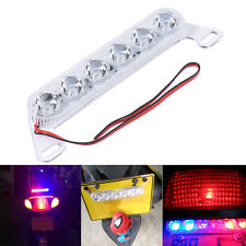 Motorcycle Strobe Taillight Brake Stop Warning Emergency Light 12V LED Lamp