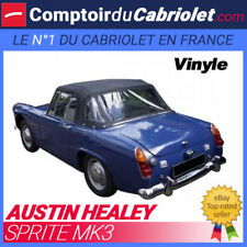Capote Austin Healey Sprite MK3 cabriolet - Toile vinyle
