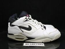 307391 102 Nike Air Flight Bound White Black Men's SZ 13 supreme jordan dunk P
