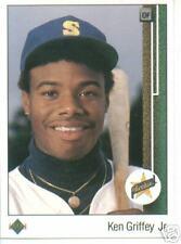 1989 Upper Deck Ken Griffey JR ROOKIE NR MT  #  1