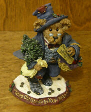 Boyds Bearstones #228374PAW Scrooge McBear...Change of Heart,  CHRISTMAS