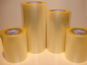 """6"""" x 300ft Roll  Clear Transfer Tape for Adhesive backed Vinyl Application"""