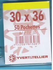 1 Blister 50 Pochettes Transparentes simple soudure 30x36