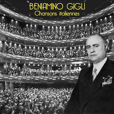 CD Beniamino Gigli : Chansons Italiennes