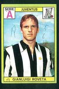 Figurina Calciatori Panini 1968-69! Roveta! Juventus! Ottima!!
