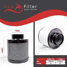 Hydroponics Fox 100 / 150 Carbon Filter Extractor Fan Grow Room Odour Control