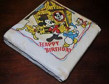 HAPPY BIRTHDAY 1954 MICKEY MOUSE CLUB PACK OF 30 NAPKINS RARE ONLY 1 ON E-BAY