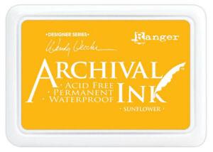 Ranger - Wendy Vecchi - Archival Ink Pads #0 - Sunflower